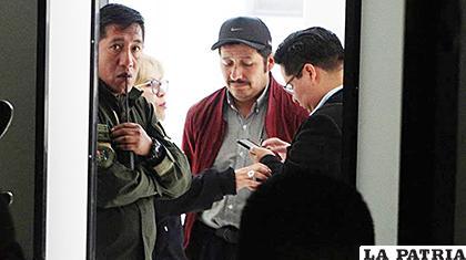 Urquizu fue puesto en detención domiciliaria el 25 de noviembre /LOS TIEMPOS