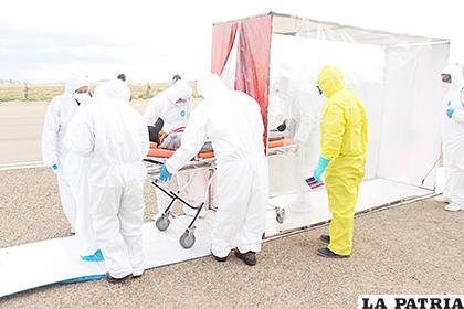 En Oruro no se incrementan casos positivos de coronavirus desde hace once días /LA PATRIA /ARCHIVO
