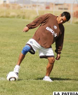Isaías Dury, jugador de San José