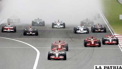 El Gran Premio de Fórmula Uno de Malasia, se correrá hoy