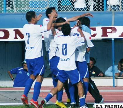 El gol de Botero provocó una celebración de locura, al final se justificó porque fue el único del partido y la victoria de San José.
