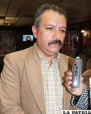 Luis Ramiro García, presidente de la FEPO