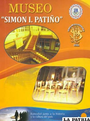 Catálogo del museo Simón I. Patiño