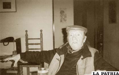 Liber Forti, Asesor Cultural de la COB y anarquista de por vida