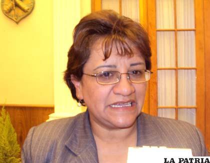 Rosario Cortez, oficial mayor de Desarrollo Humano