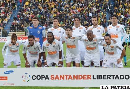 Santos nuevamente jugará en La Paz (Foto: APG)
