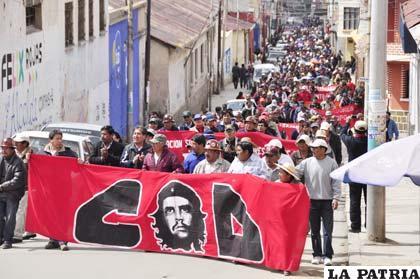 COD orureña quiere la revocatoria de mandato del presidente Evo Morales