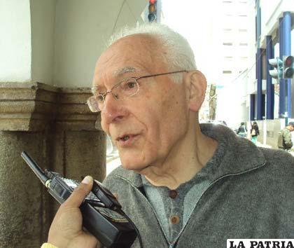 El Padre Bernardino Zanella indicó que su destino está en Santiago de Chile