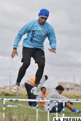 Tobías Albarracín jugador de San José