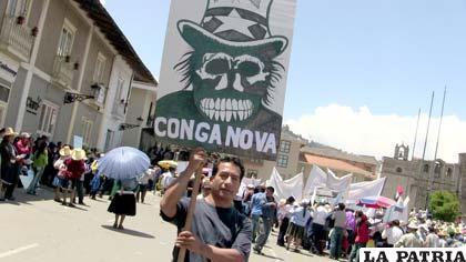 Gobierno de Perú pide evitar enfrentamientos a causa del proyecto minero Conga (Foto: cinabrio.over-blog.es)