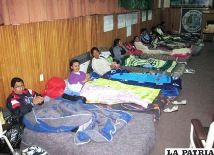 En el Seguro Social Universitario aumentó el número de huelguistas