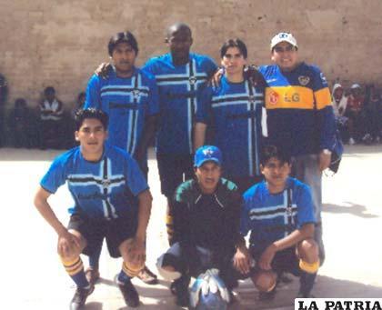 Jugadores del equipo de la Quinta Sección