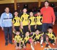 Comenzó la emoción del  voleibol da la categoría minis