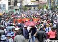 La Central Obrera Bolivia (COB) anuncia paro de 48 horas