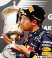 Vettel gana en Baréin y lidera el  Mundial y Alonso acaba séptimo