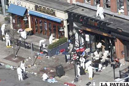 Expertos investigan el escenario de las explosiones