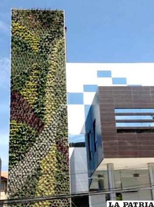 Innovador y creativo diseño ecológico en el edificio de los empresarios cochabambinos