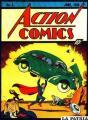 """Una de las tapas de los primeros comics del """"Hombre de Acero"""""""