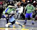 Saavedra le quita el invicto a Coremmin  y se consagra campeón por primera vez