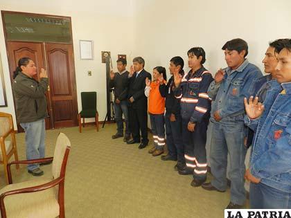 Posesión del Comité Mixto de Higiene y Seguridad Ocupacional de Elfeosa