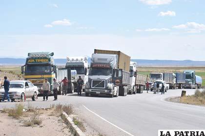El sector del transporte fue uno de los más perjudicados con la movilización de los cooperativistas