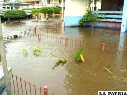 Inundaciones en Trinidad