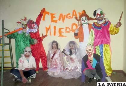 """El elenco de """"Horror Studios"""""""