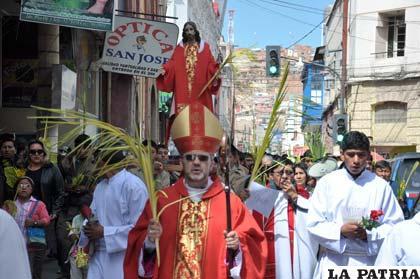 Comunidad católica inició celebración de la Semana Santa