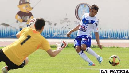 En el partido de ida San José venció por 2 a 1 en Oruro el 09/02/2014