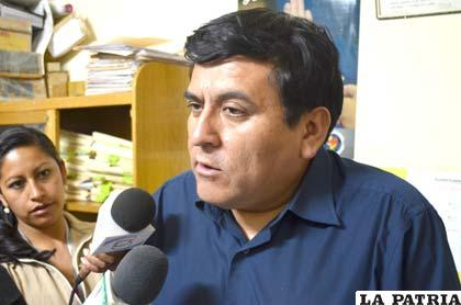 Aldo Morales, fiscal de materia