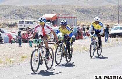 Poca asistencia de ciclistas en la primera fecha