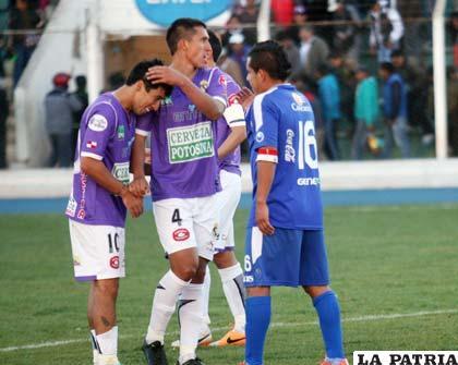 Maximiliano Andrada fue el autor del único gol del partido