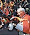 Oruro fue especial para Juan  Pablo II y él para los orureños