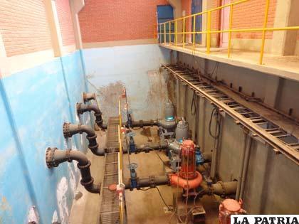Planta de tratamiento de aguas servidas requiere de mantenimiento