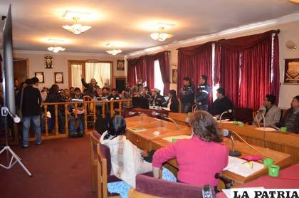 La reunión para tratar el proyecto contó con representantes de varias entidades
