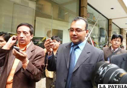 Exfiscal Marcelo Soza cuando investigaba el caso Terrorismo