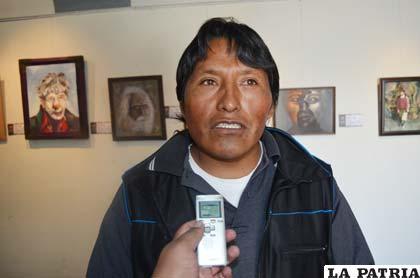 Freddy García anuncia elecciones en la ABAP Oruro