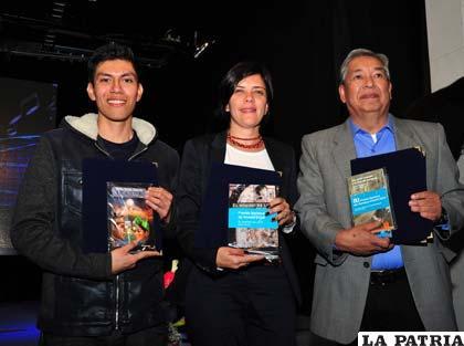 Ganadores del Premio Nacional de Literatura