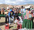 """""""Fiesta de los toros""""  en Totora Marka"""