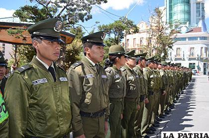 60 efectivos son parte de la nueva unidad de Carabineros