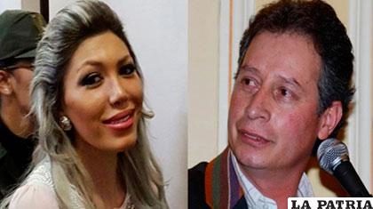 El ministro César Navarro (der.) está entre los testigos de Gabriela Zapata /ANF