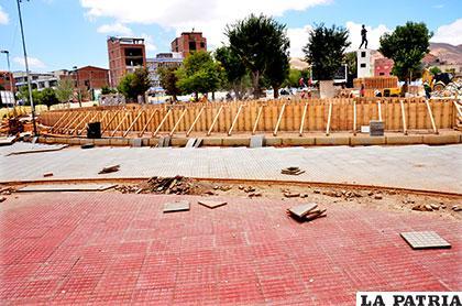 El retiro de los árboles de la plaza Sebastián Pagador aun es cuestionado