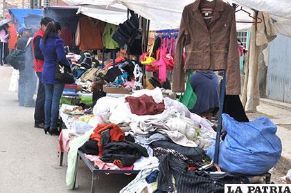 El diputado Raúl Rocha pide no vulnerar derechos de los comerciantes de ropa usada