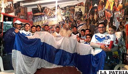 Los hinchas de San José en Santa Cruz, se organizan para apoyar este domingo a su equipo