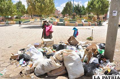 EMAO pide a ciudadanos no arrojar basura el Día del Peatón