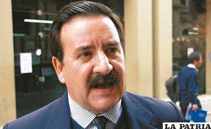 El diputado Víctor Gutiérrez es disidente de Unidad Demócrata y afín al MAS /ANF/Archivo