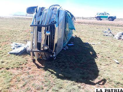 La conductora del vehículo pereció en el incidente