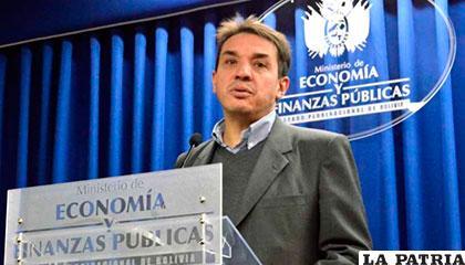 El ministro de Economía, Mario Guillén /Archivo
