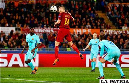 Barcelona se mostró bastante pasivo y no pudo ante el Roma