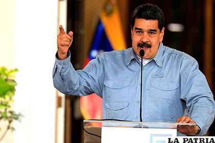 Maduro invita a la UE a aprender del sistema electoral venezolano
